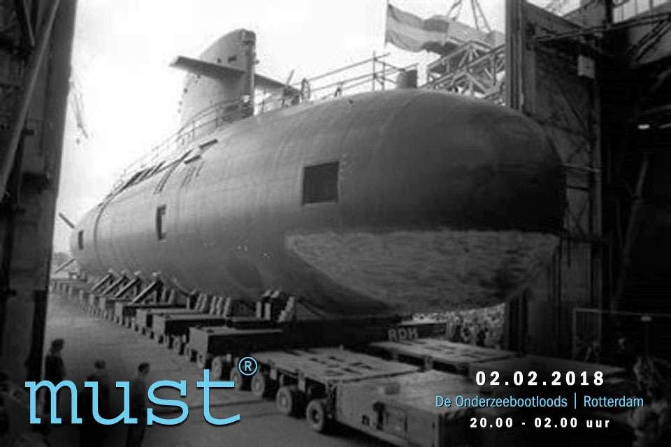 Je bekijkt nu De Onderzeebootloods Rotterdam