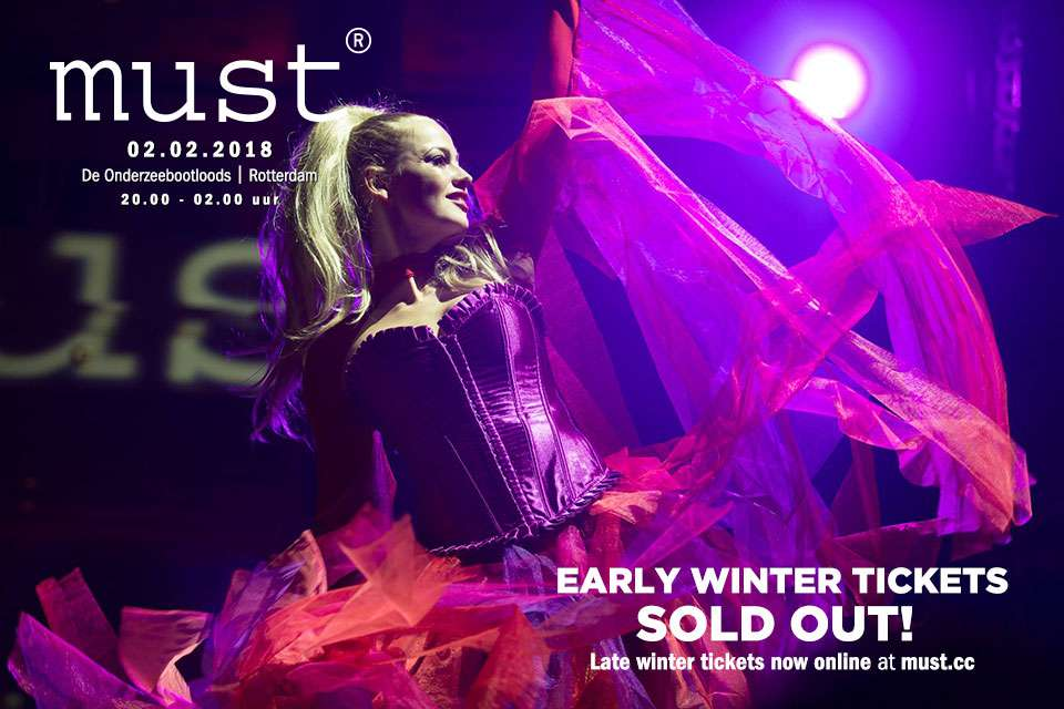 Je bekijkt nu Early Winter tickets SOLD OUT!