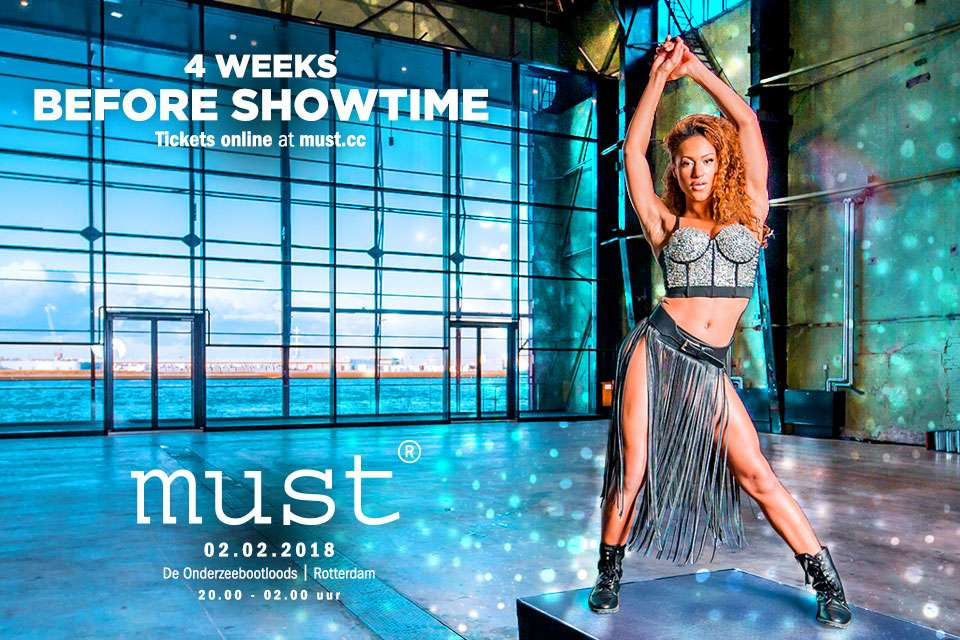 4 Weeks before showtime!